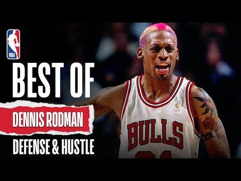 Dennis Rodman's Lockdown Defensive Performances!