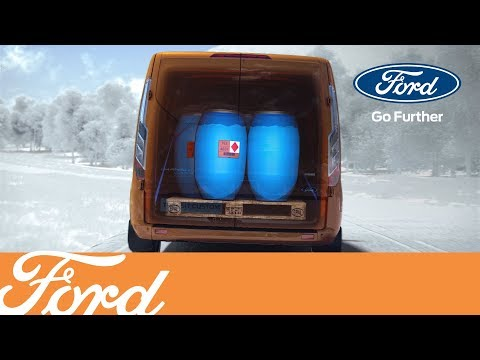 New Ford Transit Custom - Load Adaptive Control