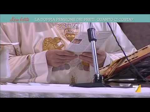 la doppia pensione dei preti, quanto ci costa?