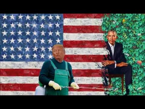 Social Media Roasts Obama Portraits (Rush Limbaugh) #ObamaPortrait