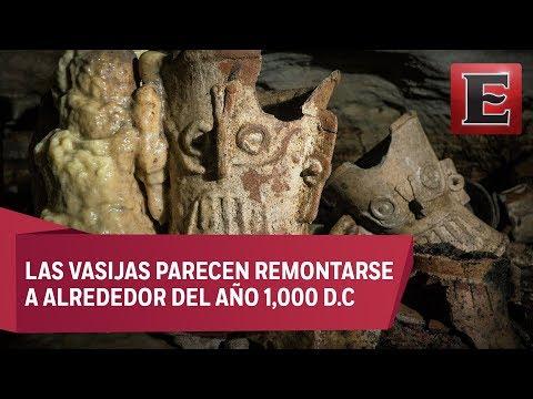 Descubren piezas arqueológicas bajo ruinas de Chichén Itzá