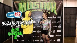 """TRAVIS BARKER interview: BLINK 182's """"ENEMA OF THE STATE"""" 20 YR + Working w/FAT MIKE (NOFX)"""