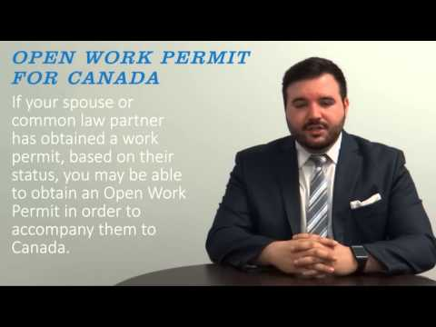 Open Work Permit for Canada