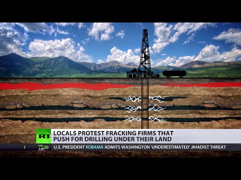 Feet - Fracking companies in the UK could soon be allowed to drill for shale gas under people's land without their agreement. The government maintains the extraction process is safe and can aid in...