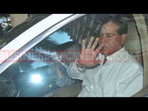 Salman Khan's Father Salim Khan Returns Back Fro