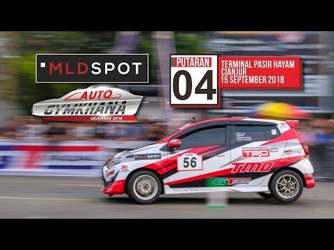 [Toyota Team Indonesia] MLDSPOT Auto Gymkhana National Championship 2018 - … видео