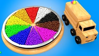 Video Learn Colors for Children with Wooden Color Wheel Educational Toys for Kids Toddlers Wooden Truck MP3, 3GP, MP4, WEBM, AVI, FLV Agustus 2017