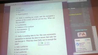 Sam's Network Security Class - Thurs 04/30/2013 - Understanding Cryptography Pt5