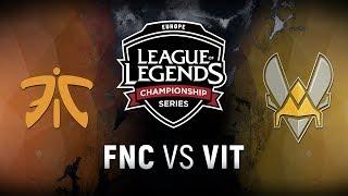 Video FNC vs. VIT - Semifinals Game 1   EU LCS Spring Playoffs   Fnatic vs. Team Vitality (2018) MP3, 3GP, MP4, WEBM, AVI, FLV Juli 2018