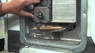 7. Travel Trailer PDI Propane, Hot Water Heater