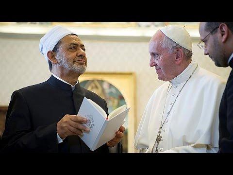 Βατικανό: Ιστορική συνάντηση του Πάπα Φραγκίσκου με τον ανώτατο Σουνίτη κληρικό