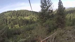 Liberty Lake (WA) United States  City new picture : Zip lining at Mica Moon