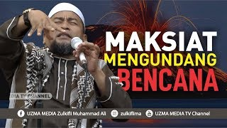 Video MAKSIAT MENGUNDANG BENCANA - STOP MAKSIAT   UST. ZULKIFLI MUHAMMAD ALI, LC., MA. MP3, 3GP, MP4, WEBM, AVI, FLV Januari 2019