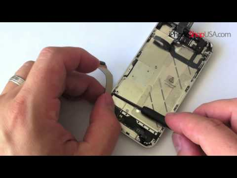 iphone 4S Parts - http://www.iphoneshopusa.com/52-iphone-4s If you want to change your iPhone from Black to White or vise versa this video is for you. The most complete and be...