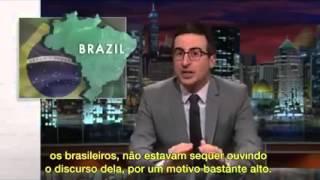 Brazil becomes international Mockery -  American humorist exposes the harsh reality of Brazil today