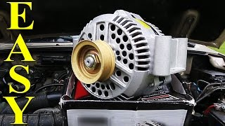 6. How to Replace an Alternator