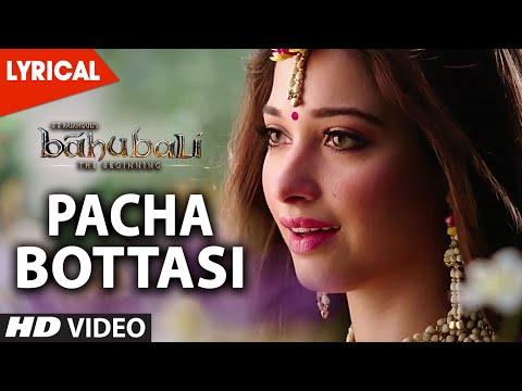 Video Pacha Bottasi Lyrical Video Song || Baahubali (Telugu) || Prabhas, Rana, Tamannaah download in MP3, 3GP, MP4, WEBM, AVI, FLV January 2017