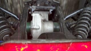 8. 2005 Yamaha Kodiak 450 Independent Rear Suspension in Action  IRS