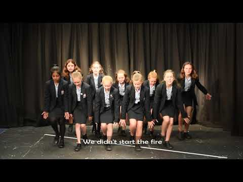 Students Sing To Save The Planet