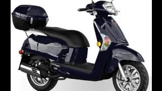 5. KYMCO LIKE 50 2T BLUE 49cc Scooter