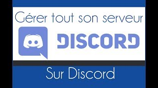"""► Aujourd'hui, """"Ovni 51"""" vous montre comment configurer et parametrer une serveur discord :) Abonnez vous à lui▬▬▬▬▬▬▬▬▬▬▬▬▬▬▬▬▬▬▬▬▬▬▬▬▬▬▬▬▬► A PROPOS DE LA VIDEO :- Vidéo original : https://www.youtube.com/watch?v=yAulj6H7Rz0- Chaîne de l'auteur : https://www.youtube.com/channel/UCCMdxy63N8sJTTd7hck1ITw- Lien : http://adf.ly/1mzkmL▬▬▬▬▬▬▬▬▬▬▬▬▬▬▬▬▬▬▬▬▬▬▬▬▬▬▬▬▬Envie du logiciel Action Mirrilis pour filmer ton écran Windows ? à -80% https://goo.gl/ejmmx4▬▬▬▬▬▬▬▬▬▬▬▬▬▬▬▬▬▬▬▬▬▬▬▬▬▬▬▬▬                        A PROPOS DE TUTO WATCH TVTUTO WATCH TV est une chaine communautaire de tutoriels, où seuls les vidéos tutos en informatiques sont acceptés, il y a un upload tout les deux jours, pour satisfaires tout le monde :)Créé en 2014 par Captain VPour envoyer ta vidéo tuto c'est sur ce lien unique : http://www.captainv.fr/TWTV/+ de 200 autres astuces à découvrir : http://captainv.fr▬▬▬▬▬▬▬▬▬▬▬▬▬▬▬▬▬▬▬▬▬▬▬▬▬▬▬▬▬Gagner 50 euros par mois : https://goo.gl/bMxv1F"""