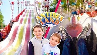 Video VLOG - TOBOGGANS GÉANTS & ATTRACTIONS à ANTIBES LAND ! - Le Grand Parc d'Attractions du Sud MP3, 3GP, MP4, WEBM, AVI, FLV September 2017