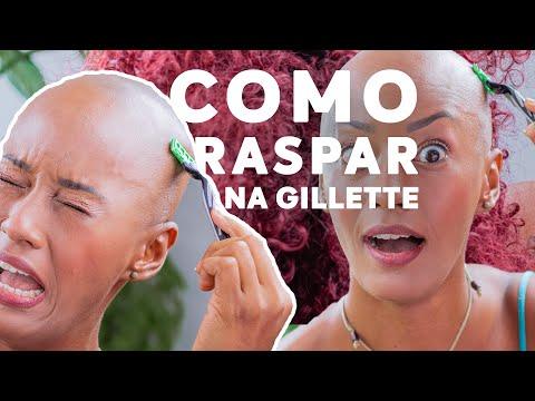 Como raspar o cabelo na Gillette ( sem machucar, isso ninguém te conta)