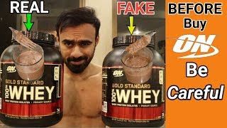 If You Buy Optimum Nutrition Gold  Standard Then You Have To Be Careful | 2018