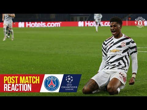 Solskjaer, Rashford, De Gea & Tuanzebe react to Paris win | PSG 1-2 Manchester United | UCL