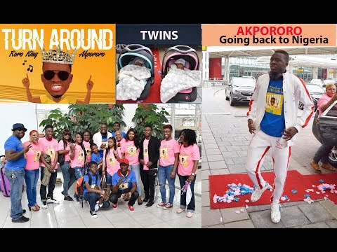 Download AKPORORO , TWINS AND FAMILY  DEPART FROM BWI AMERICA TO NIGERIA