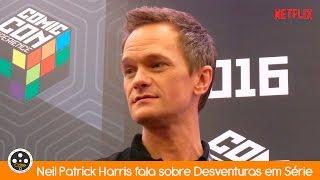 Neil Patrick Harris fala sobre Desventuras em Série