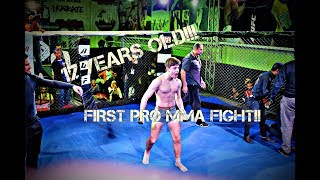 Video First Pro MMA Fight at 17 Years of age MP3, 3GP, MP4, WEBM, AVI, FLV Desember 2018
