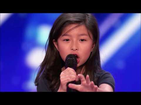 Celine Tam: Wonder Girl Wants To Be Next Celine Dion on America's Got Talent