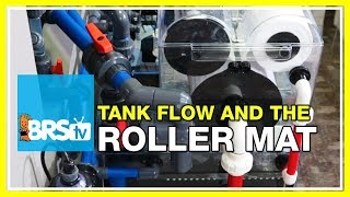 What is the relationship between the Theiling Rollermat and the tank's return flow rate? | 52 FAQ