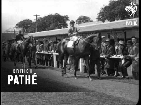 Irish Derby 1926 win of Maharaja Sir Vijaysinhji of Rajpipla. (Rajpipla)
