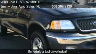 2003 Ford F150 XLT SuperCab 4WD for sale in Tabernacle, NJ 0