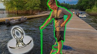 Video I Took My 1500lbs Magnet To A Loaded Boat Ramp And You Won't Believe What We Found MP3, 3GP, MP4, WEBM, AVI, FLV Juli 2019