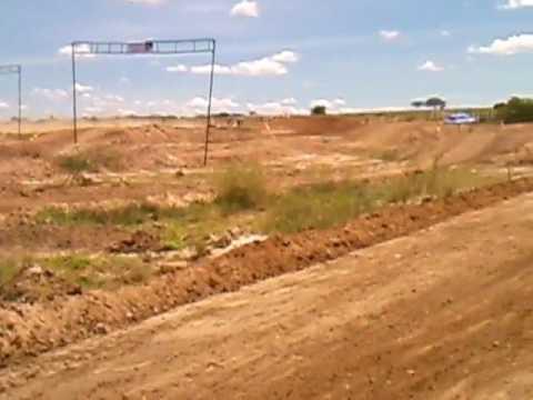 Motocross em Barra de Santa Rosa nacional intermediário classificatória B.
