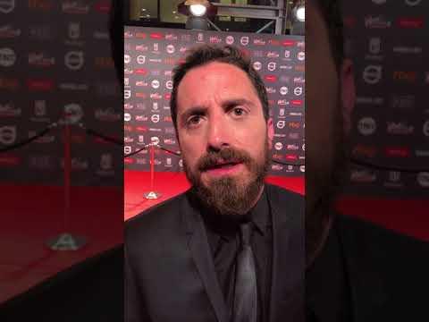 El cineasta Pablo Larrain habla en los Premios Platino 2017