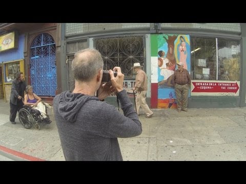 Jack Simon Shooting Street Photography in San Francisco
