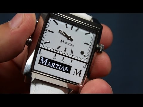 Wearable Tech Review: The Martian Passport Bluetooth Smartwatch (with speakerphone test)