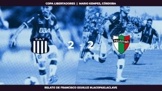 EN VIVO, Talleres v/s Palestino - Copa Libertadores - #LaCopaXLaClave