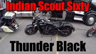 4. 2016 Indian Scout Sixty Review - Thunder Black Test Ride