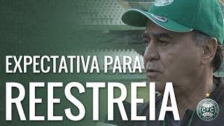 Em entrevista à TV Coxa, Marcelo Oliveira contou como foram seus primeiros dias junto ao elenco coxa-branca e falou sobre sua expectativa para a reestreia em campo. Será no domingo (30), contra o Atlético-MG, às 16h, no Couto Pereira.