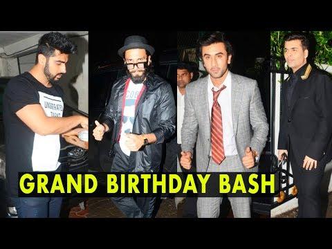 Star Studded Arjun Kapoor's GRAND Birthday Bash