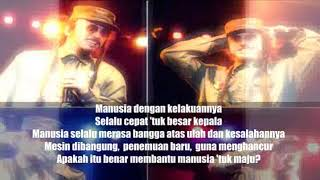 Ras Muhamad & Daddy T - Teknologi ( Lyrical Video )