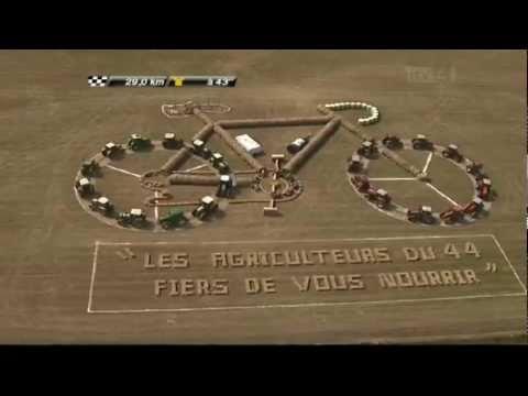 Francuscy rolnicy na Tour de France