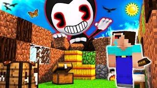 Minecraft - BENDY vs NOOB (FNAF House Trolling)