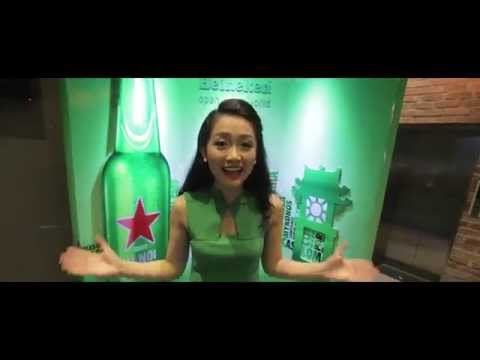 Khám phá Heineken cùng hotgirl Thu Hà