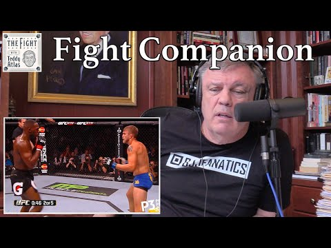 Teddy Atlas watches JON JONES vs ALEXANDER GUSTAFSSON 1   The Fight Companion
